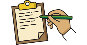 form and pen icon
